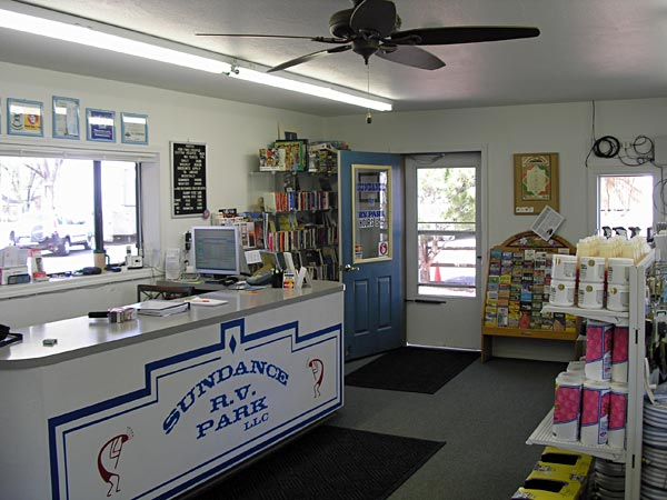 Sundance RV Park Office Store