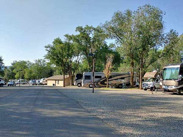 Sundance RV Park View has plenty of room for big rigs
